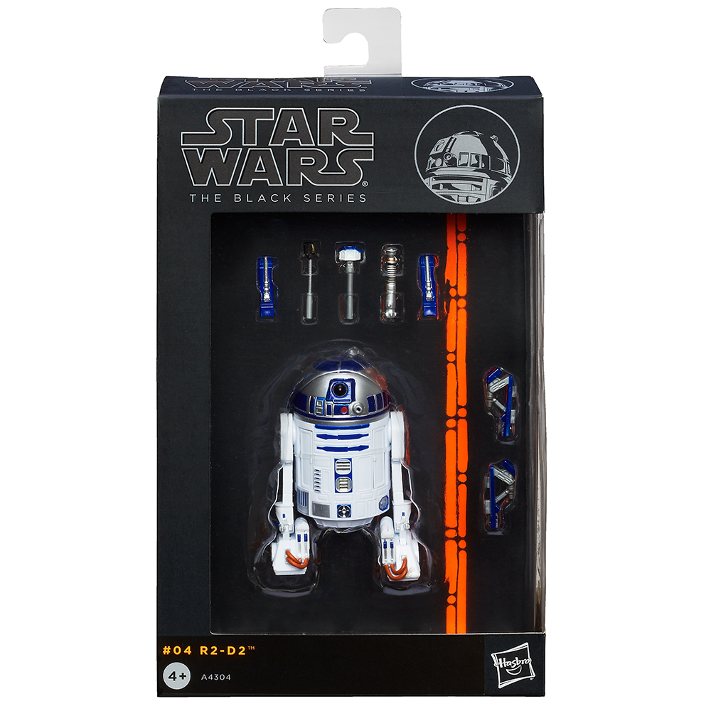 STAR WARS THE BLACK SERIES R2-D2 FIGURE