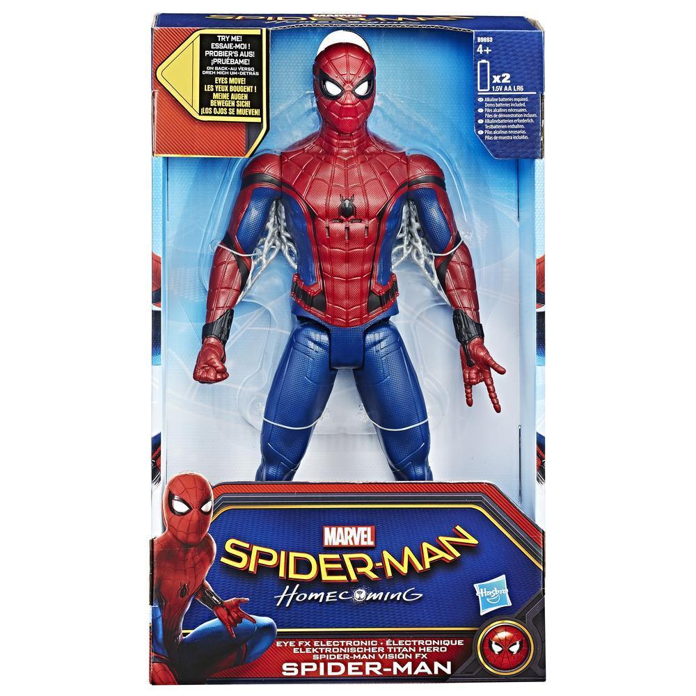 SPIDER-MAN MOVIE EYE FX ELECTRONIC SPIDER MAN