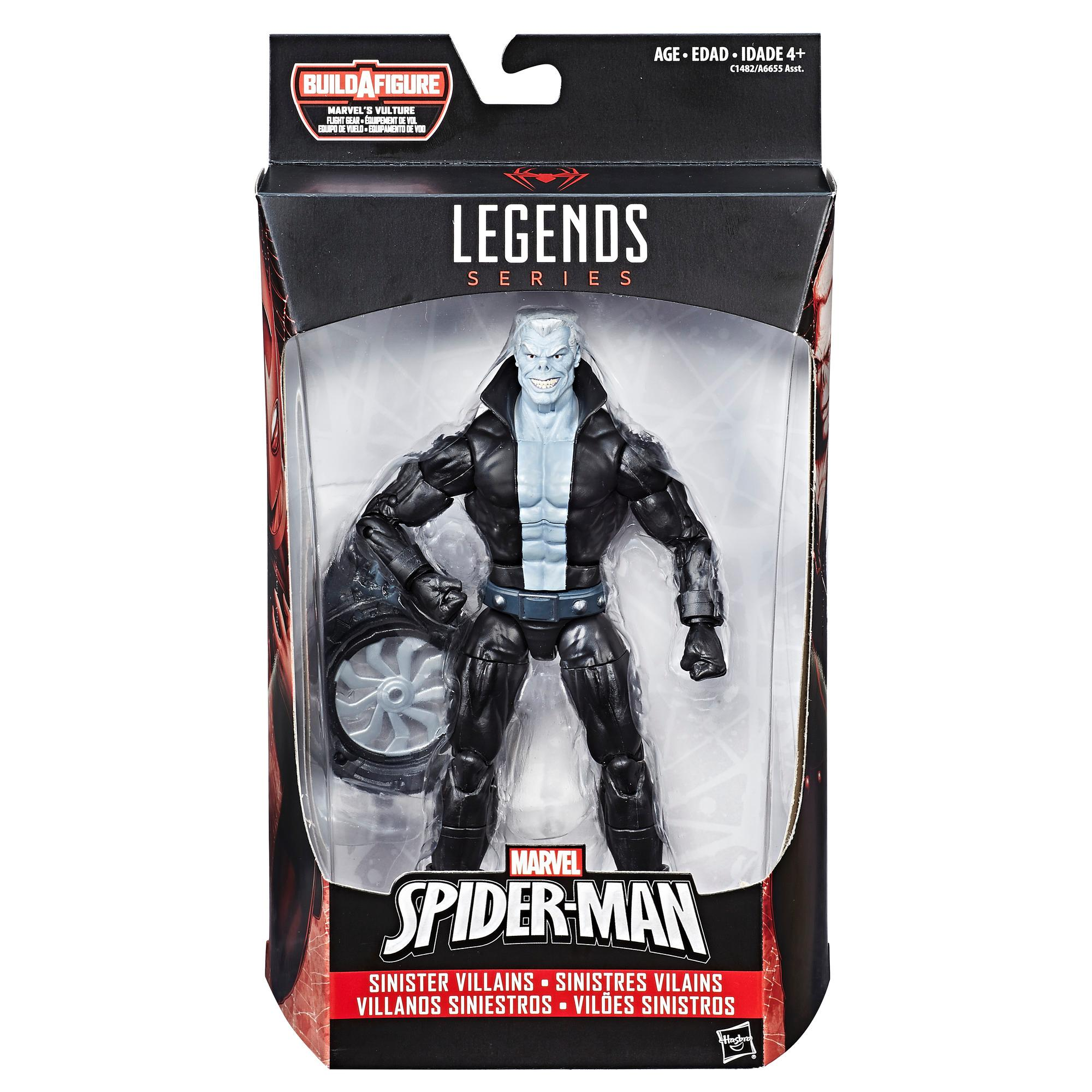 Marvel Spider-Man  6 ινστών Legends Series Sinister Villains: Marvels Tombstone