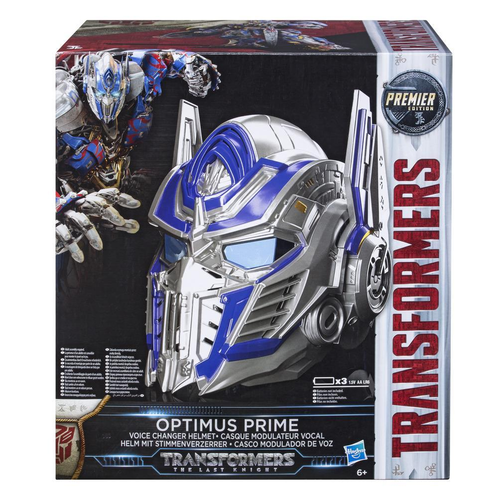 TRANSFORMERS MV5 OPTIMUS PRIME VOICE CHANGER HELMET
