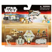 STAR WARS REBELS MICRO MACHINES DELUXE VEHICLE PACK REBELLION RISING