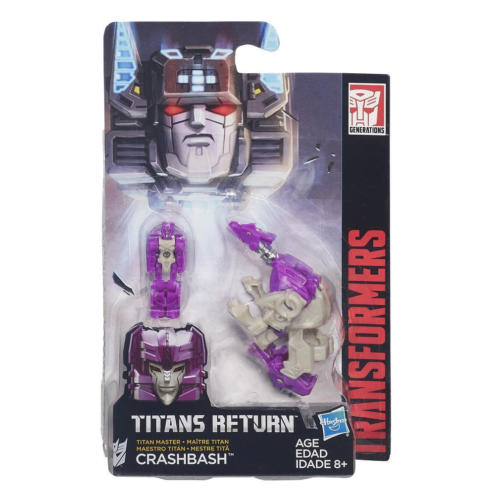Transformers Generations Titans Return Titan Master Crashbash