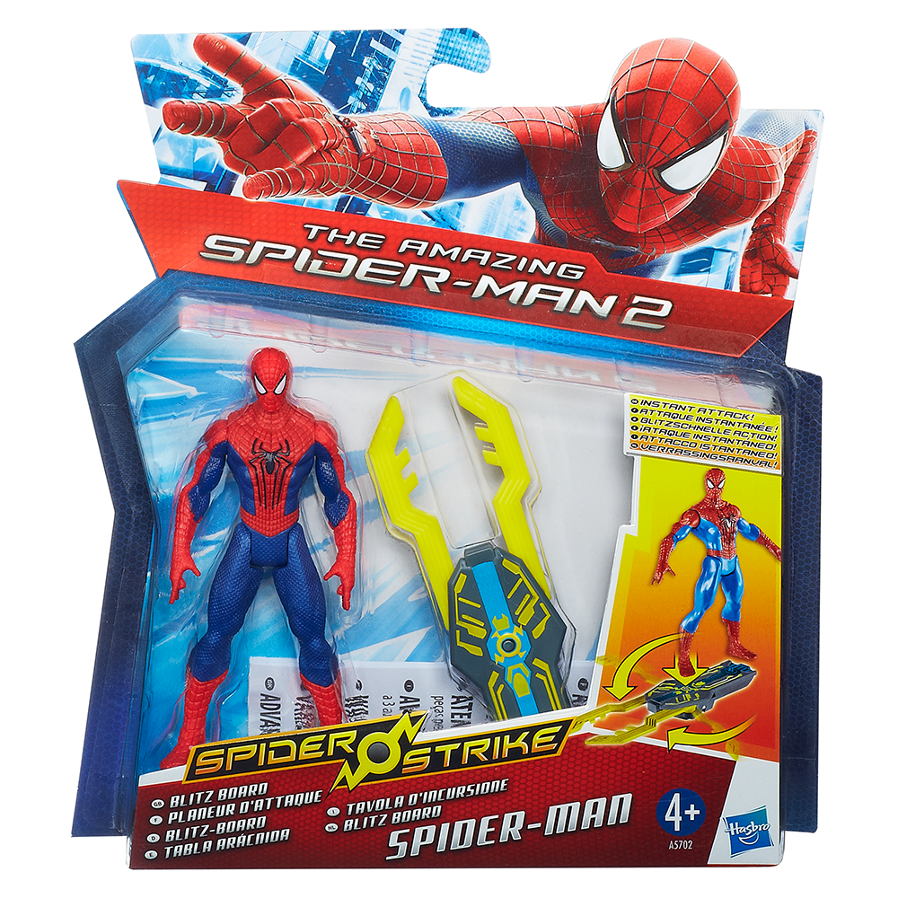 Marvel Amazing Spider-Man 2 Spider Strike Blitz Board Spider-Man Figure