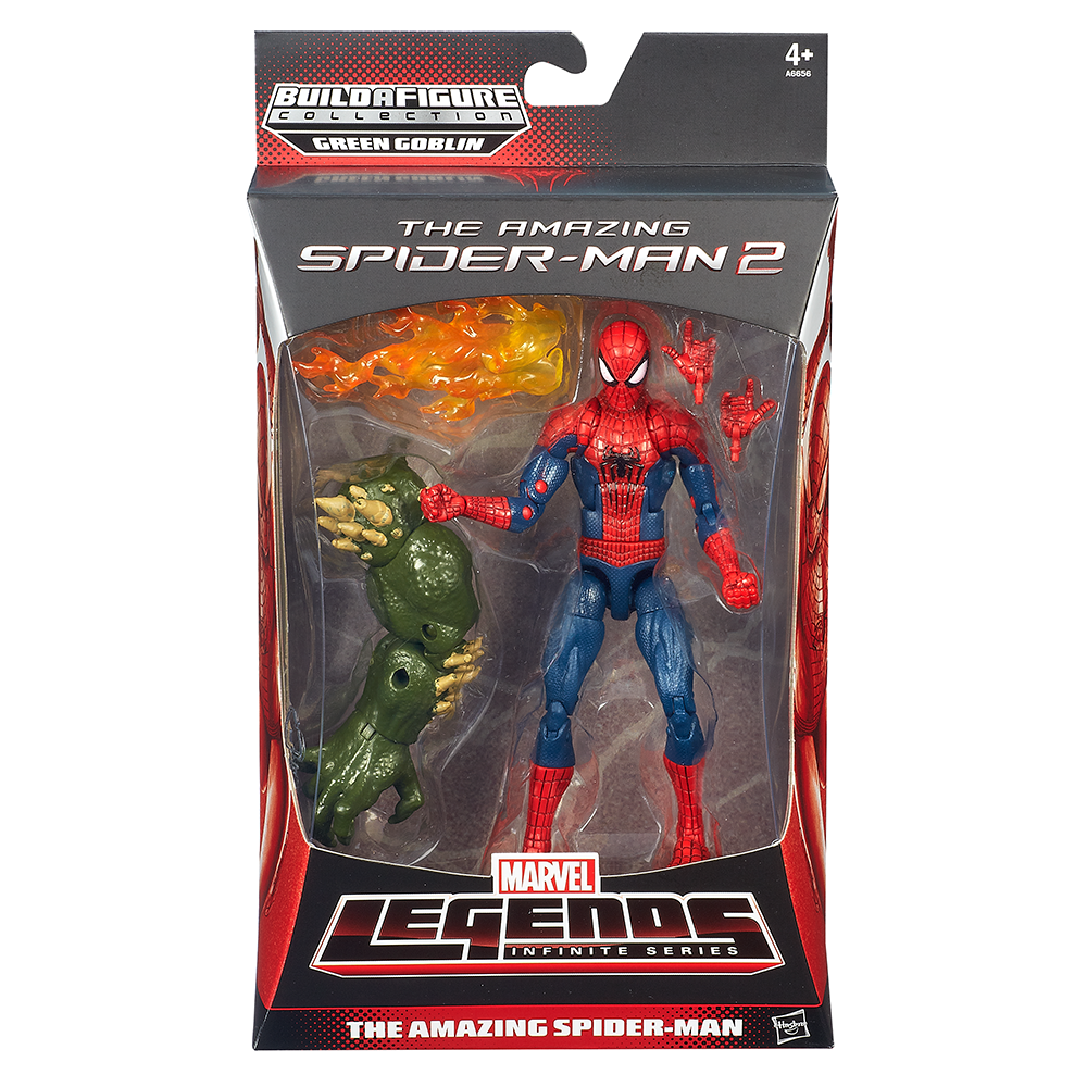 Marvel The Amazing Spider-Man 2 Marvel Legends Infinite Series The Amazing Spider-Man Figure