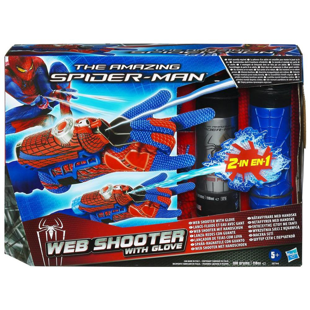 SPIDER-MAN MOVIE DUAL ACTION WEB SHOOTER