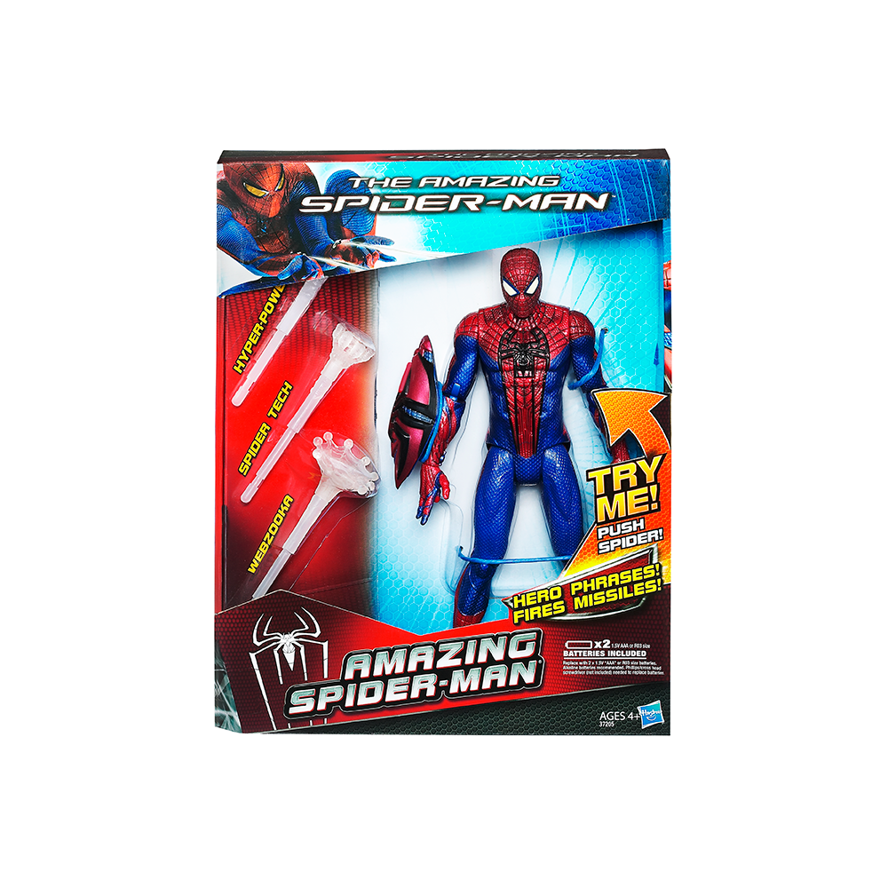 SPIDER-MAN MOVIE 10 ινστών ELECTRONIC FIGURE
