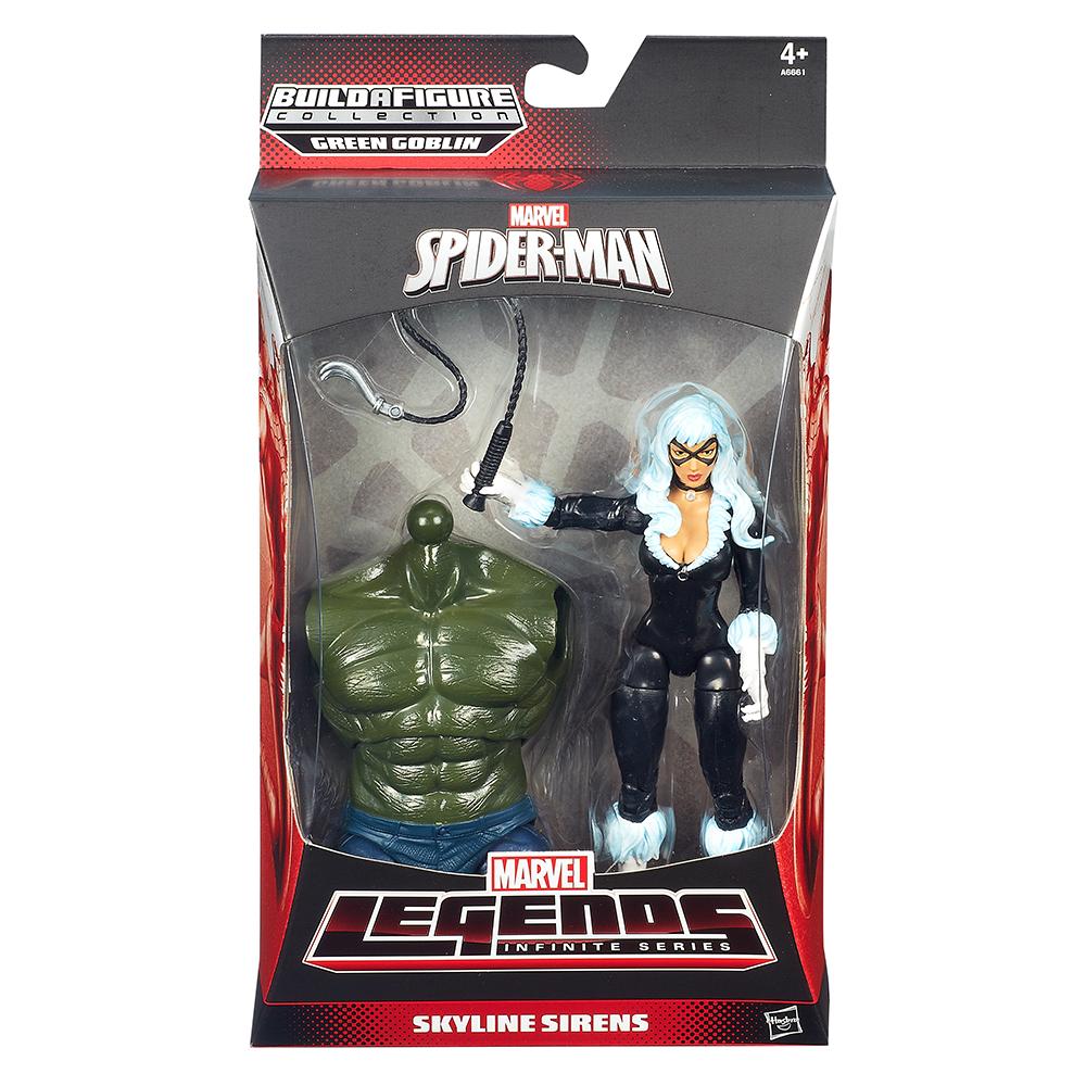 Marvel The Amazing Spider-Man 2 Marvel Legends Infinite Series Skyline Sirens Figure