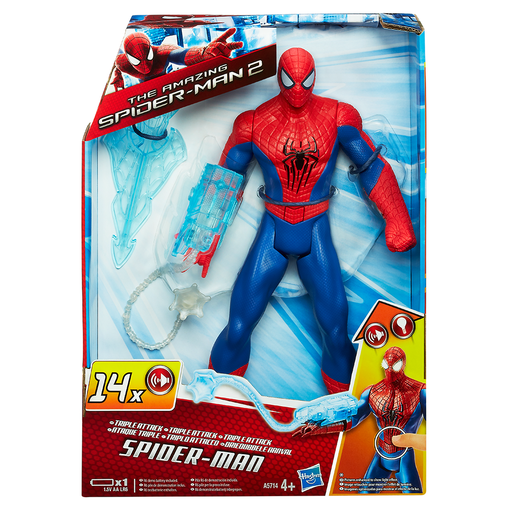 Marvel Amazing Spider-Man 2 Triple Attack Spider-Man