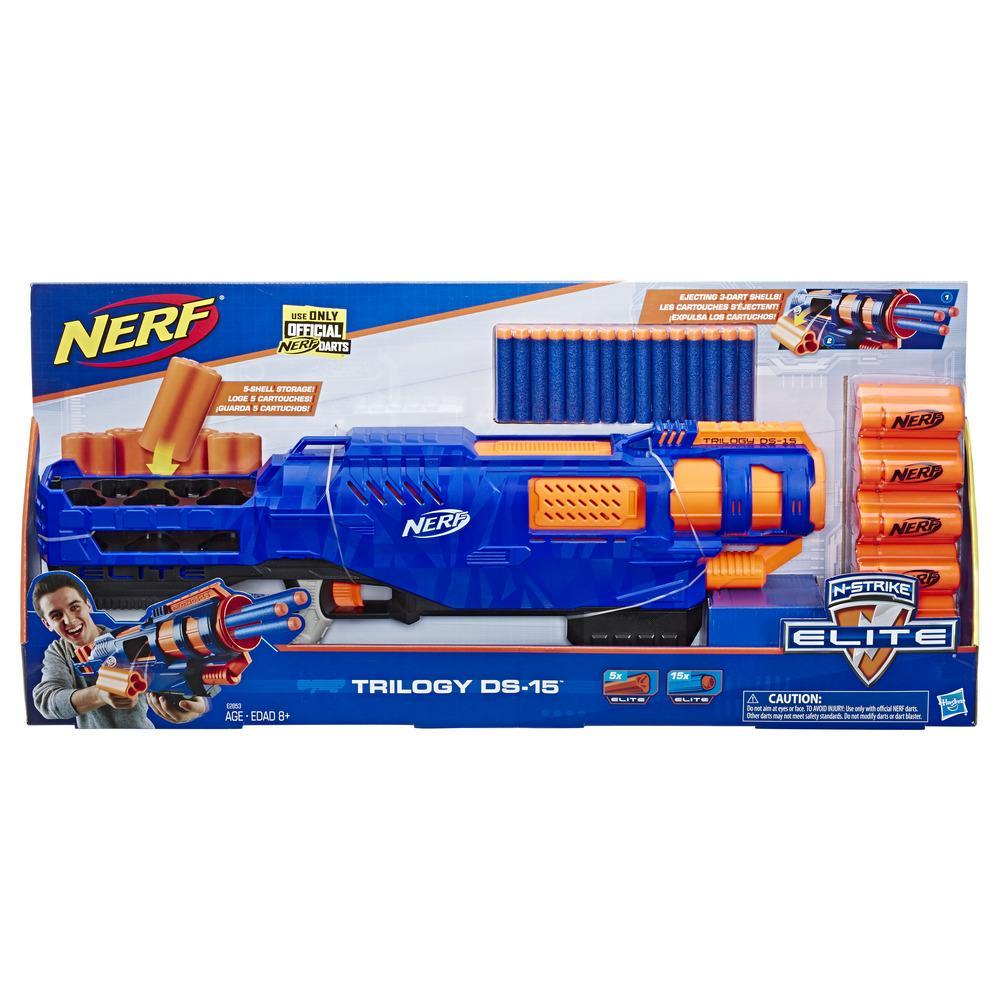 Trilogy DS-15 Nerf N-Strike Elite Toy Blaster
