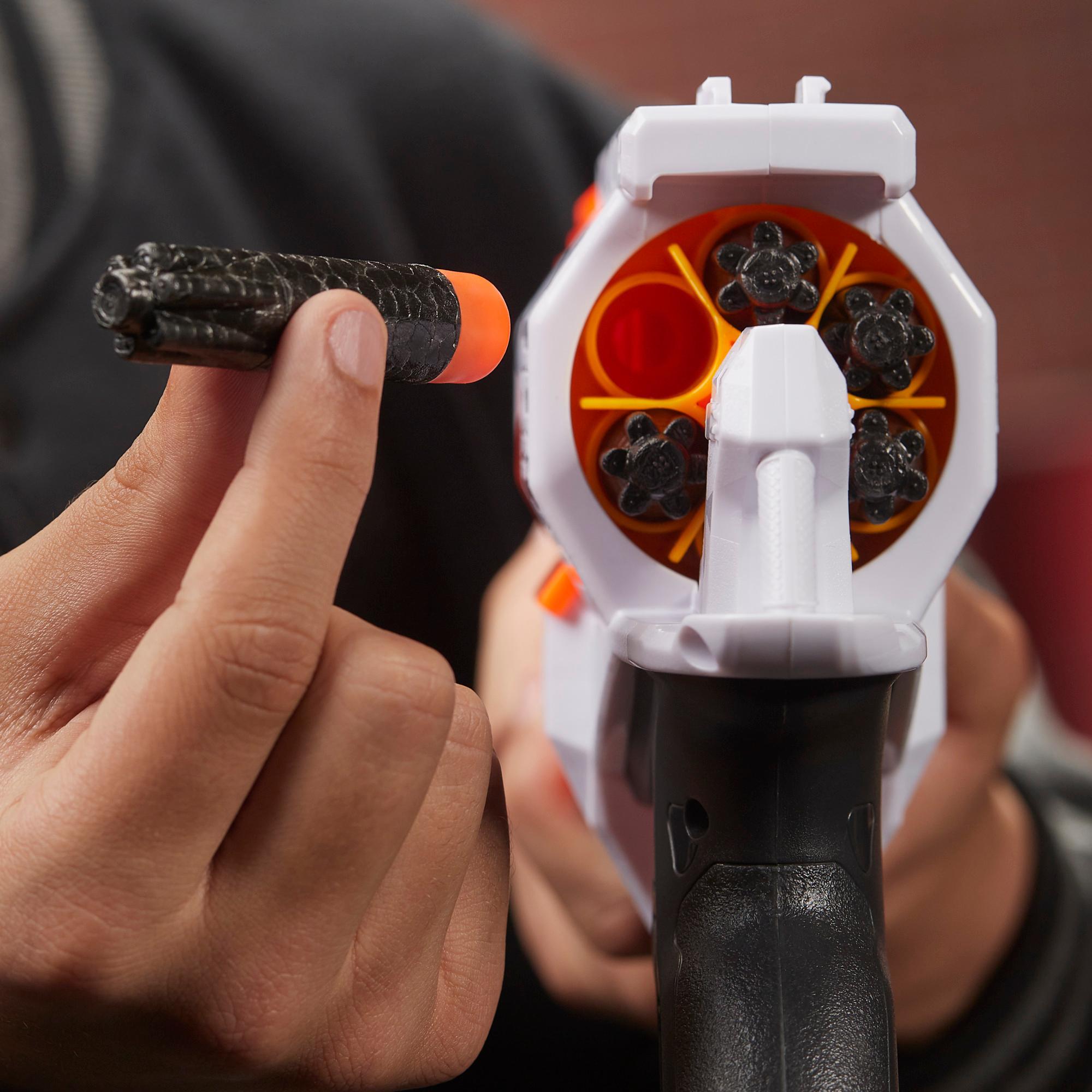Μηχανοκίνητος Εκτοξευτής Nerf Ultra Two -- Γρήγορο οπίσθιο ξαναγέμισμα, 6 βελάκια Nerf Ultra -- Συμβατός μόνο με βελάκια Nerf Ultra
