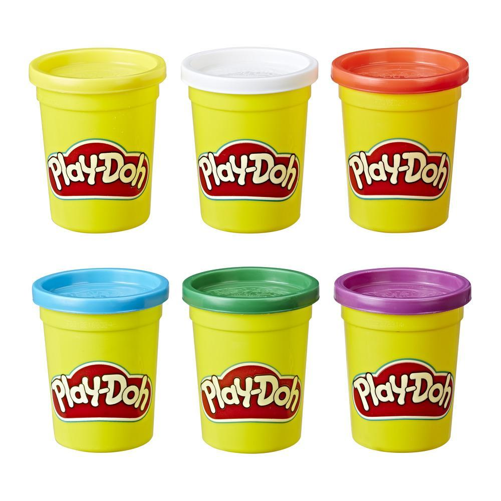 PLAY-DOH 6 PACK PRIMARY COLORS