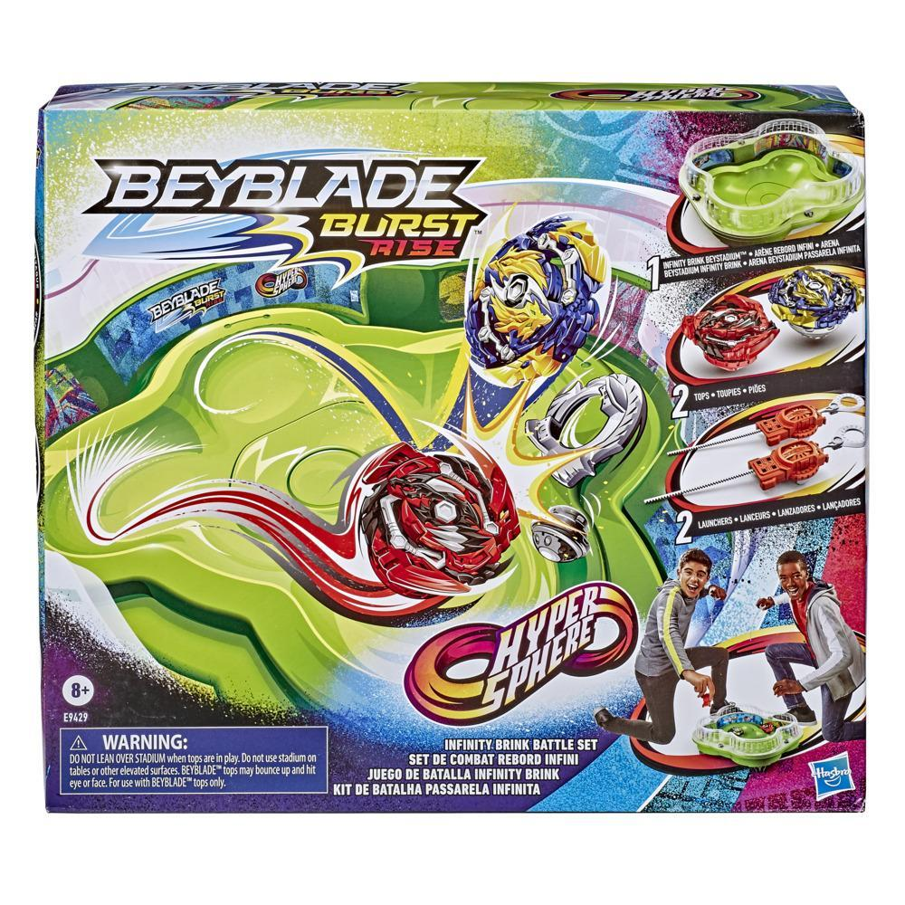 Beyblade Burst Rise Hypersphere Infinity Brink Battle Set