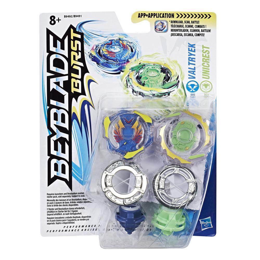 Beyblade Burst Dual Pack Valtryek & Unicrest