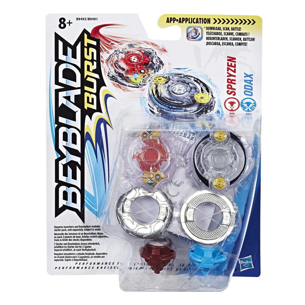 Beyblade Burst Dual Pack Spryzen & Odax