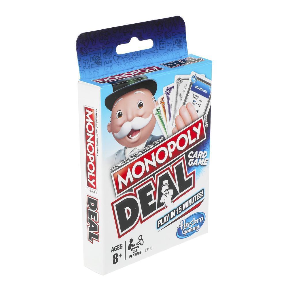 Επιτραπέζιο Monopoly Deal παιχνίδι με κάρτες