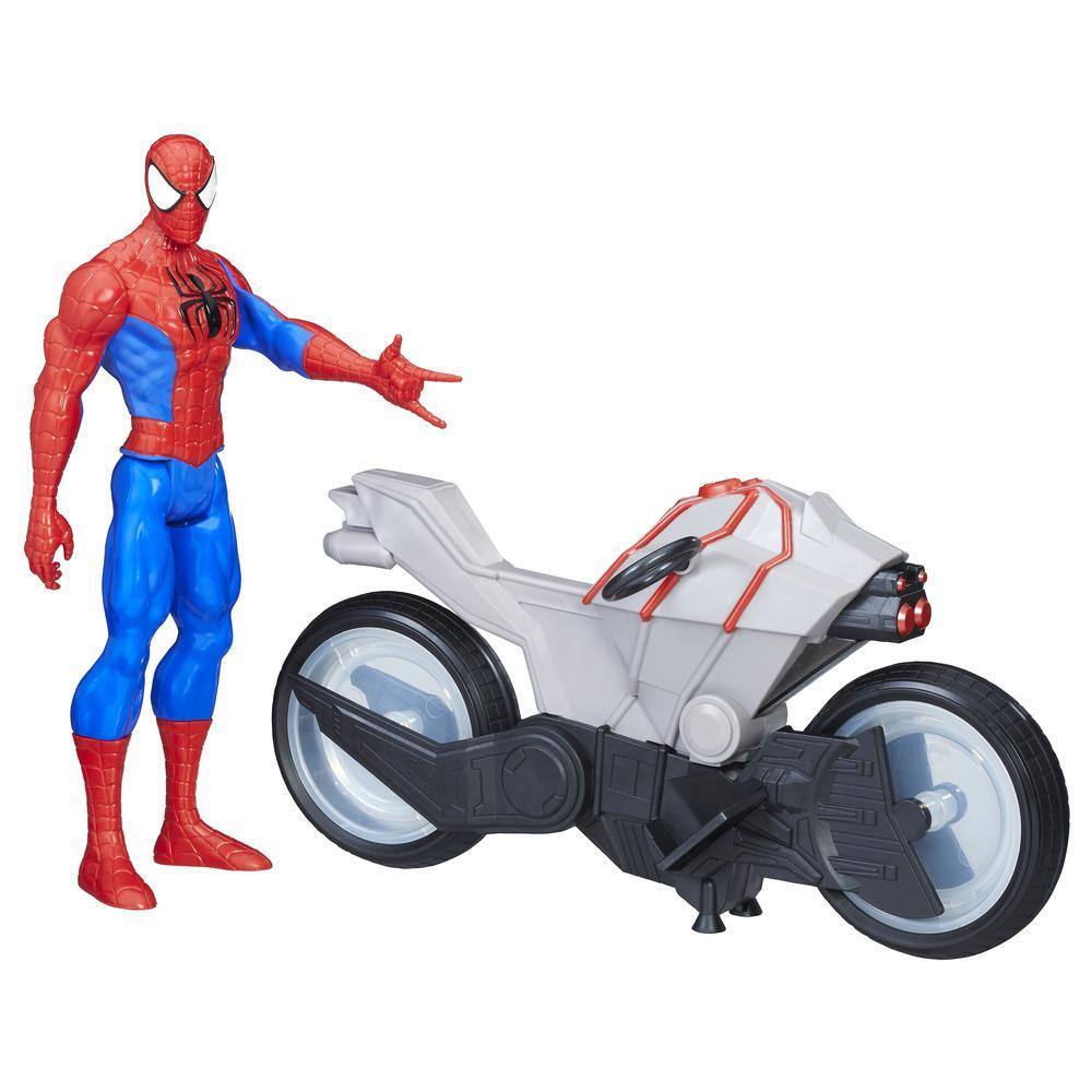SPIDER-MAN TITAN HERO SERIES FIGURE AND CYCLE
