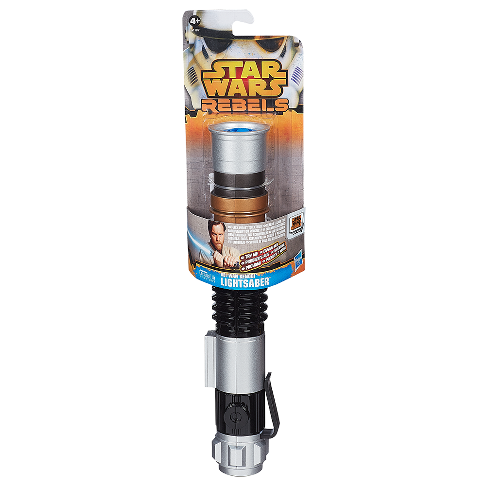 STAR WARS OBI-WAN KENOBI LIGHTSABER TOY