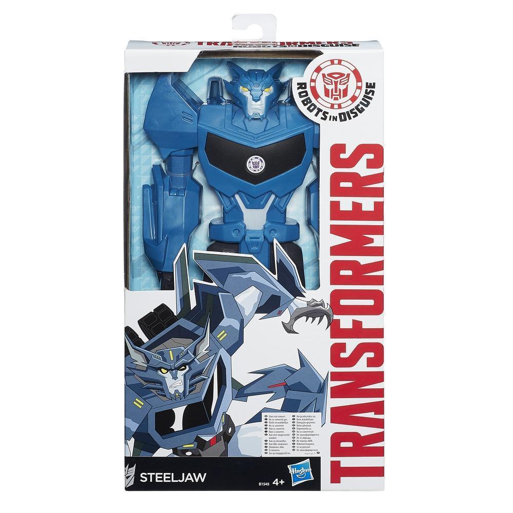 Transformers Robots in Disguise 12ΙΝ Titan Hero Steeljaw