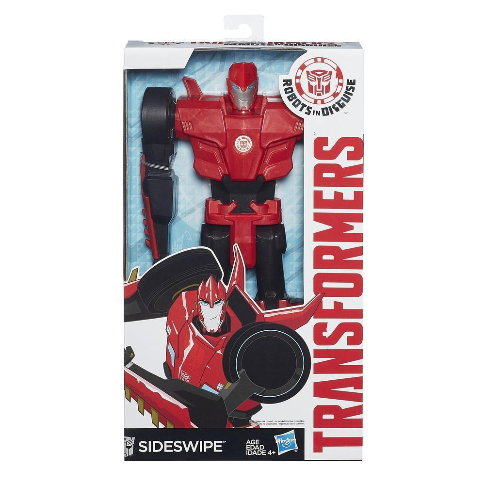 Transformers Robots in Disguise 12ΙΝ Titan Hero Sideswipe