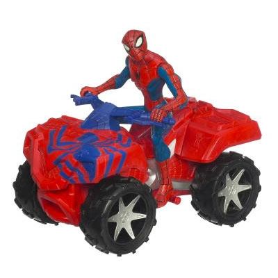 SPIDER-MAN - ANIMATED OXHMATA ZOOM N GO VEHICLE