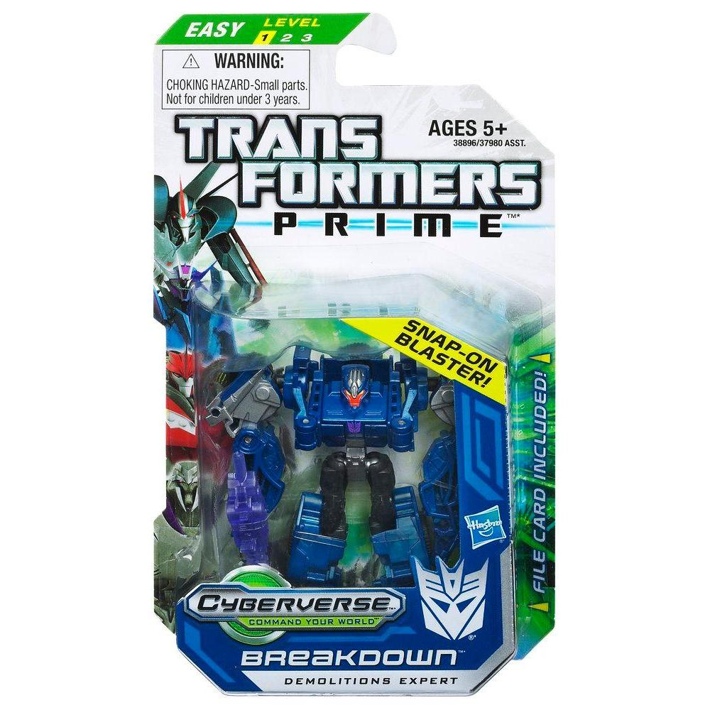 TRANSFORMERS PRIME CYBERVERSE LEGION BREAKDOWN Figure