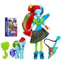 My Little Pony Equestria Girls Rainbow Rocks Rainbow Dash Doll και Pony