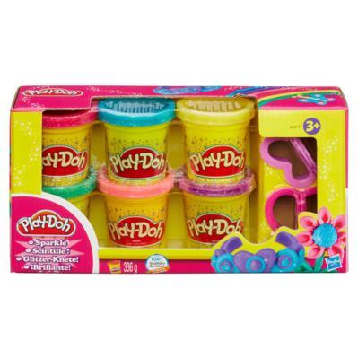 Play-Doh Πλαστοζυμαράκι Λαμπιρίζον