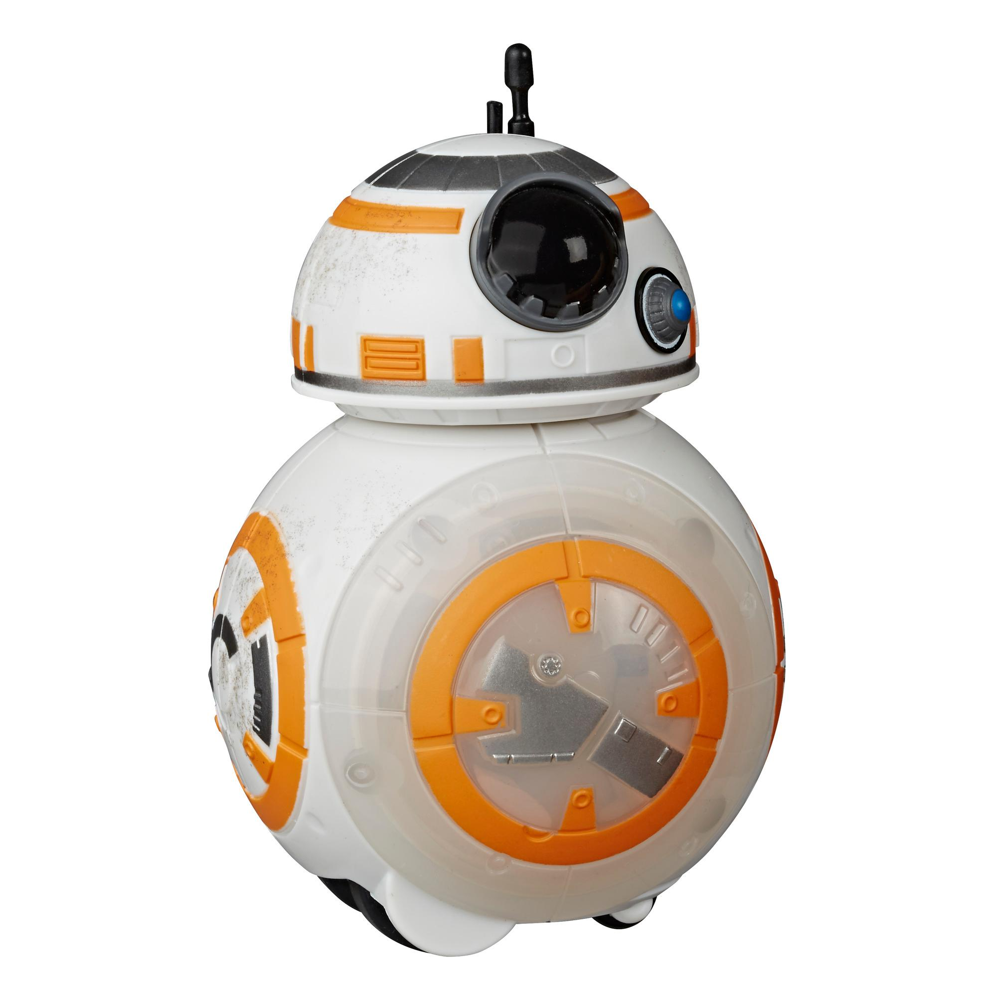 Star Wars Spark and Go BB-8 Rolling Astromech Droid Rev-and-Go Toy