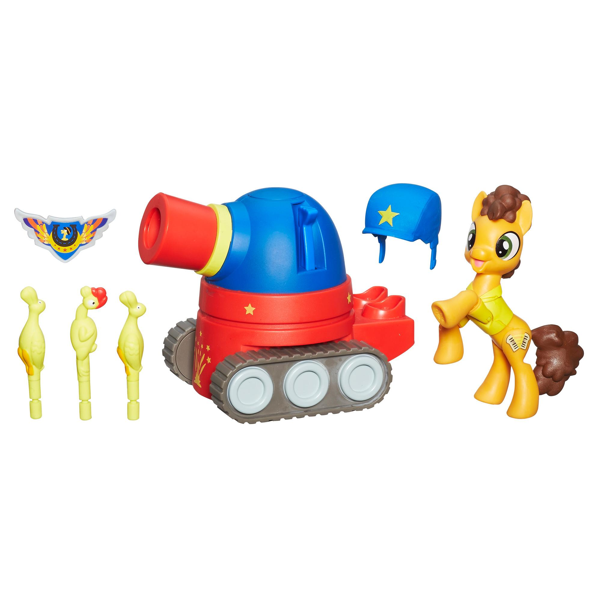 My Little Pony Guardians of Harmony Cheese Sandwich Pony with Party Tank