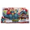 Playskool Heroes Chomp Squad Blazeasaurus and Sparks McKenzie