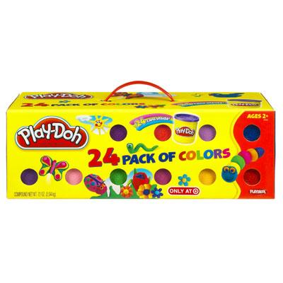 PLAY-DOH 24 Pack of Colours
