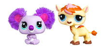 LITTLEST PET SHOP CUTEST PETS Pack (Koala and Camel)