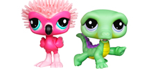 LITTLEST PET SHOP CUTEST PETS Pack (Flamingo and Crocodile)