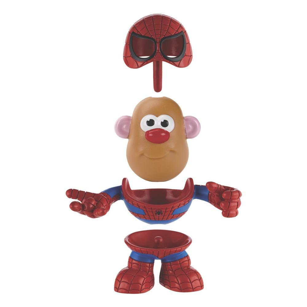 Playskool Mr. Potato Head Marvel Mixable Mashable Heroes as Spider-Man Set