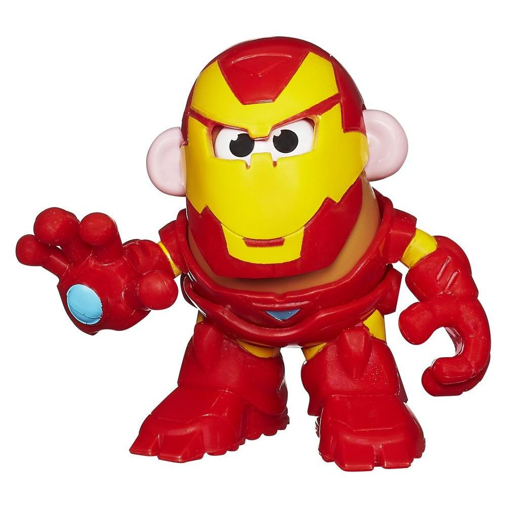 Playskool Mr. Potato Head Marvel Mixable Mashable Heroes as Iron Man Set