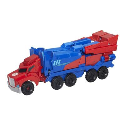 Transformers Robots in Disguise 3-Step Changers Optimus Prime Figure