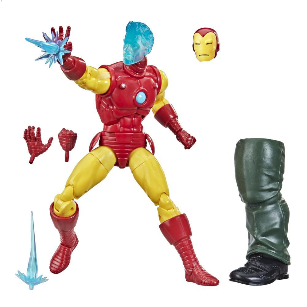 Hasbro Marvel Legends Series 6-inch Collectible Tony Stark (A.I.) Action Figure Toy For Age 4 and Up