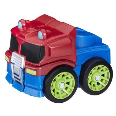Playskool Heroes Transformers Rescue Bots Flip Racers Optimus Prime