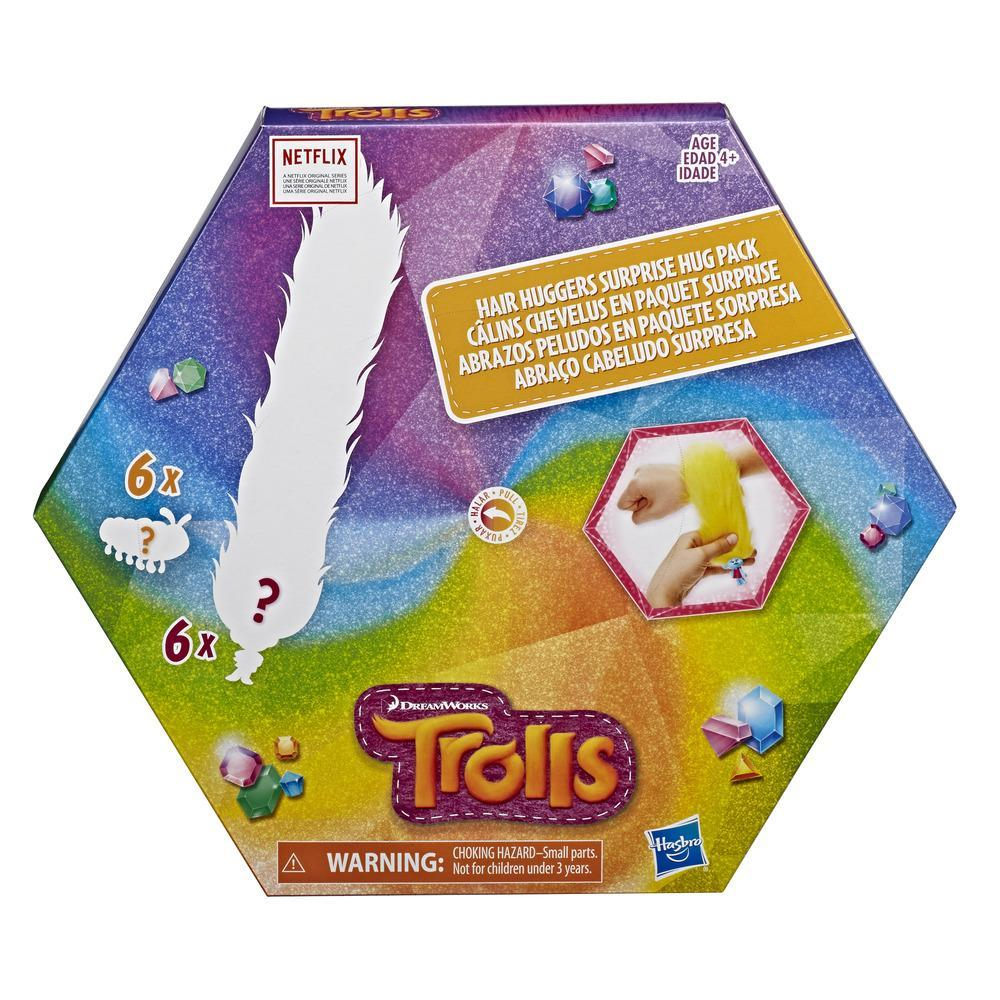DreamWorks Trolls Hair Huggers Surprise Hug Pack
