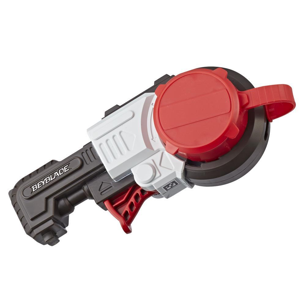 Beyblade Burst Turbo Slingshock Precision Strike Launcher – Compatible with Right/Left-Spin Tops, Age 8+