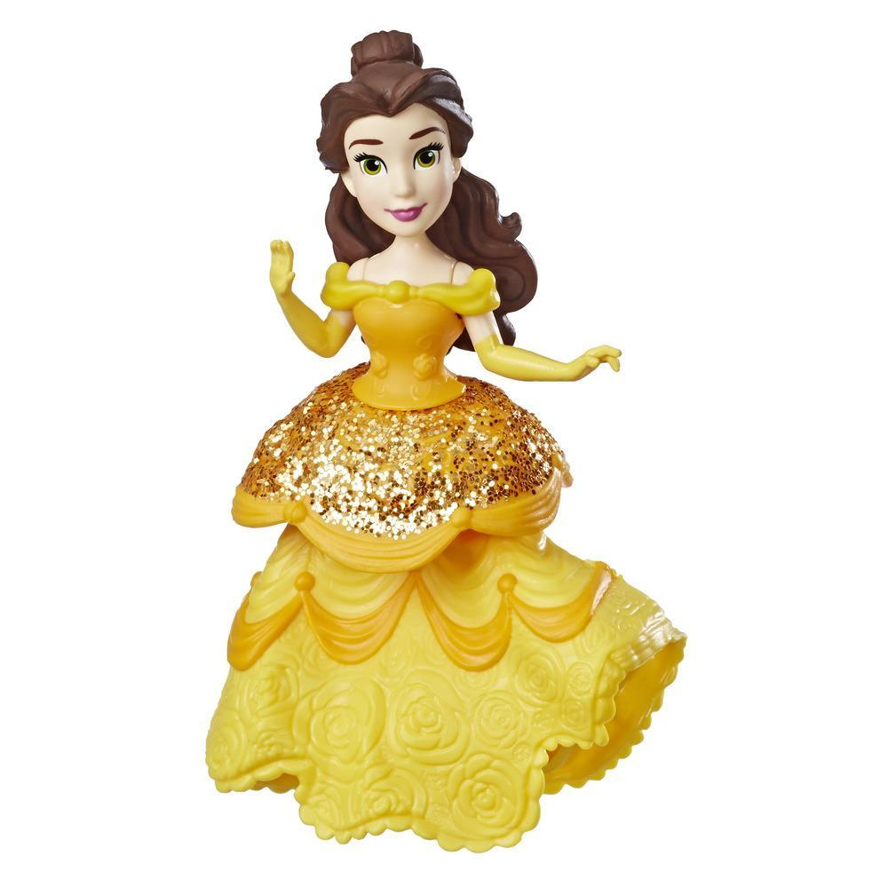 Disney Princess Belle Doll with Royal Clips Fashion, One-Clip Skirt