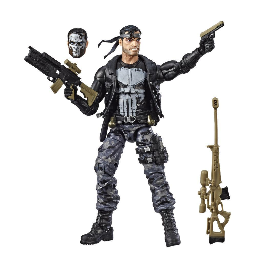 Hasbro Marvel Legends Series 6-inch Collectible Action Figure The Punisher