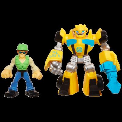 Playskool Heroes Transformers Rescue Bots Energize Bumblebee & Graham Burns 2-Pack