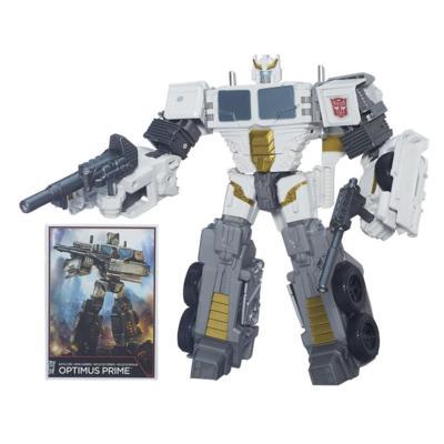 Transformers Generations Combiner Wars Voyager Class Battle Core Optimus Prime Figure