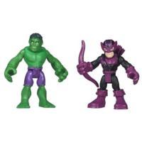 Playskool Heroes Marvel Super Hero Adventures Hulk and Marvel's Hawkeye