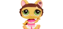 LITTLEST PET SHOP WALKABLES Dancing Pets Dancing Cat