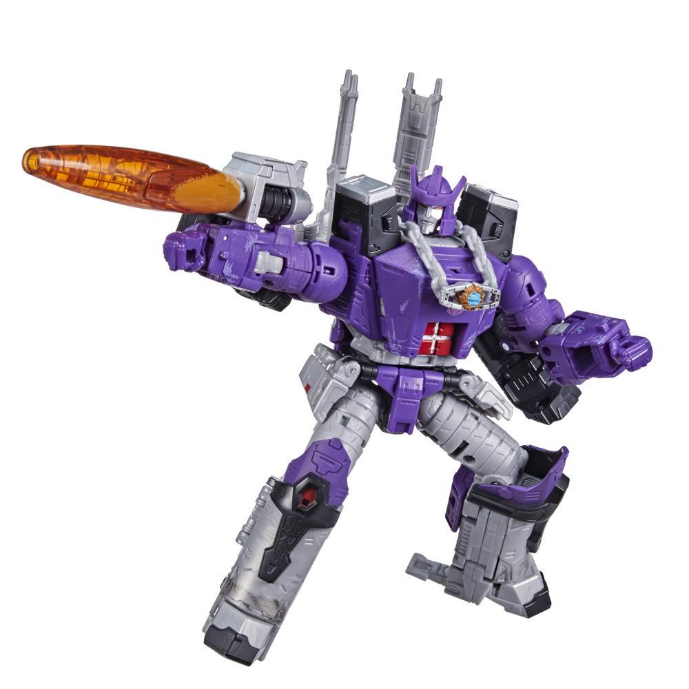 Transformers Toys Generations War for Cybertron: Kingdom Leader WFC-K28 Galvatron Action Figure - 8 and Up, 7.5-inch