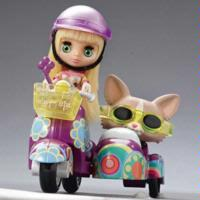 LITTLEST PET SHOP - BLYTHE Loves LITTLEST PET SHOP: Scooter