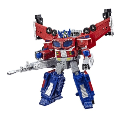 Transformers Toys Generations War for Cybertron Leader WFC-S40 Galaxy Upgrade Optimus Prime Action Figure - Siege Chapter - Adults and Kids Ages 8 and Up, 7-inch Product