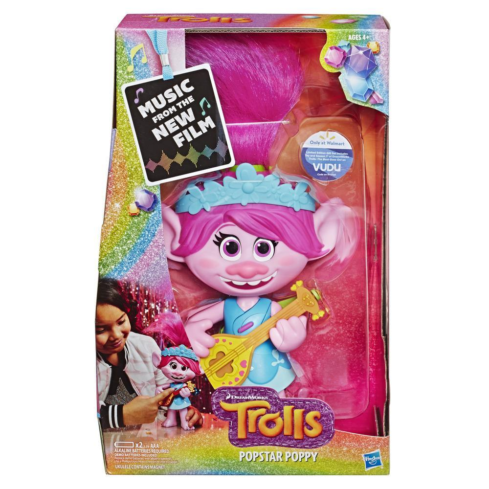 DreamWorks Trolls Popstar Poppy Singing Doll